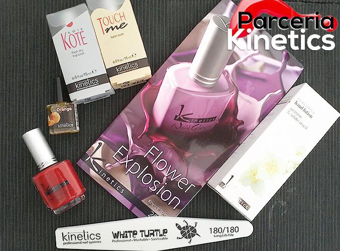 Parceria com a Kinetics Nails Portugal