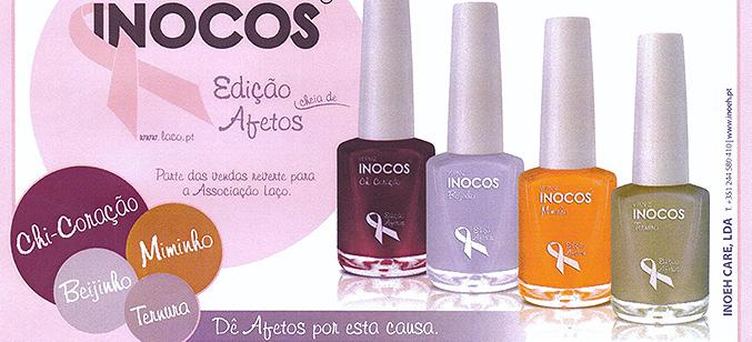 """Vernizes Inocos lançam """"Coleção Afetos"""" a favor da Laço"""