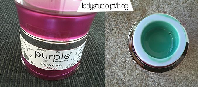 [Parceria] Purple Professional Gel Colorido Natalia