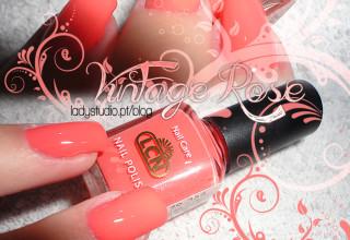 Opinião: Verniz Vintage Rose 354 Primavera / Verão 2013 da LCN