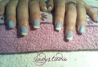 Gel de cor da LCN – Lilac Blossom e Soft Daisy