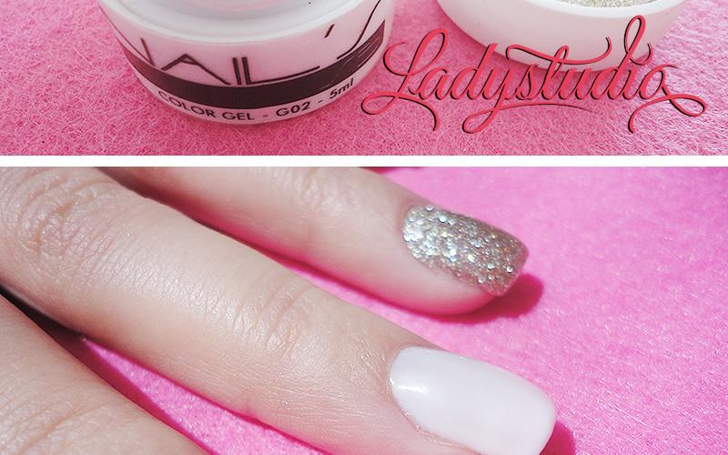 [Opinião] SB Nails Color Gel G02 Glitter