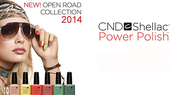[Lançamento] CND Shellac Open Road Spring Collection