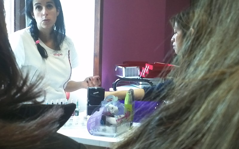 Workshop de unhas de gel e art nails na Sorisa