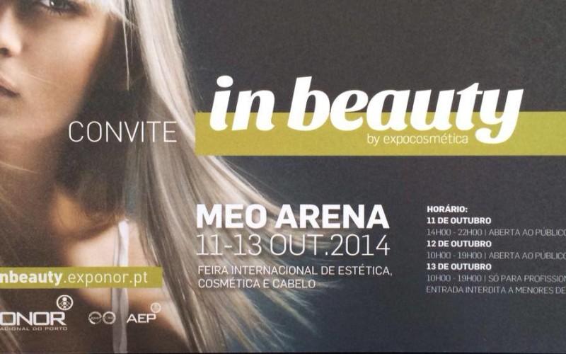 Eu vou | In Beauty (Feira Internacional de Estética, Cosmética e Cabelo) 2014