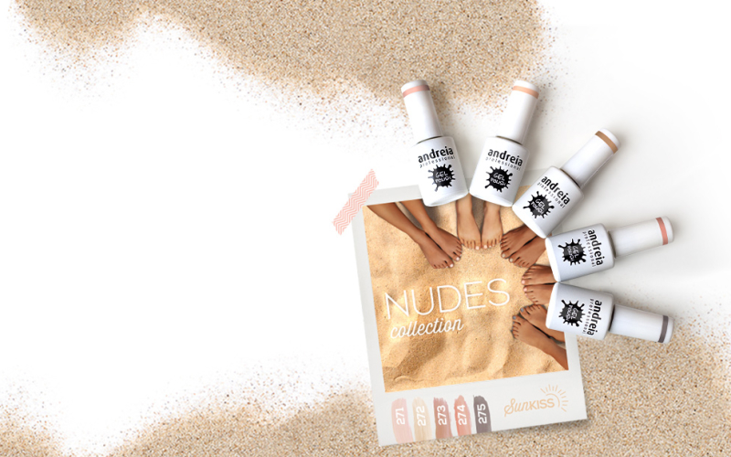 Os nudes da Andreia Professional gel polish